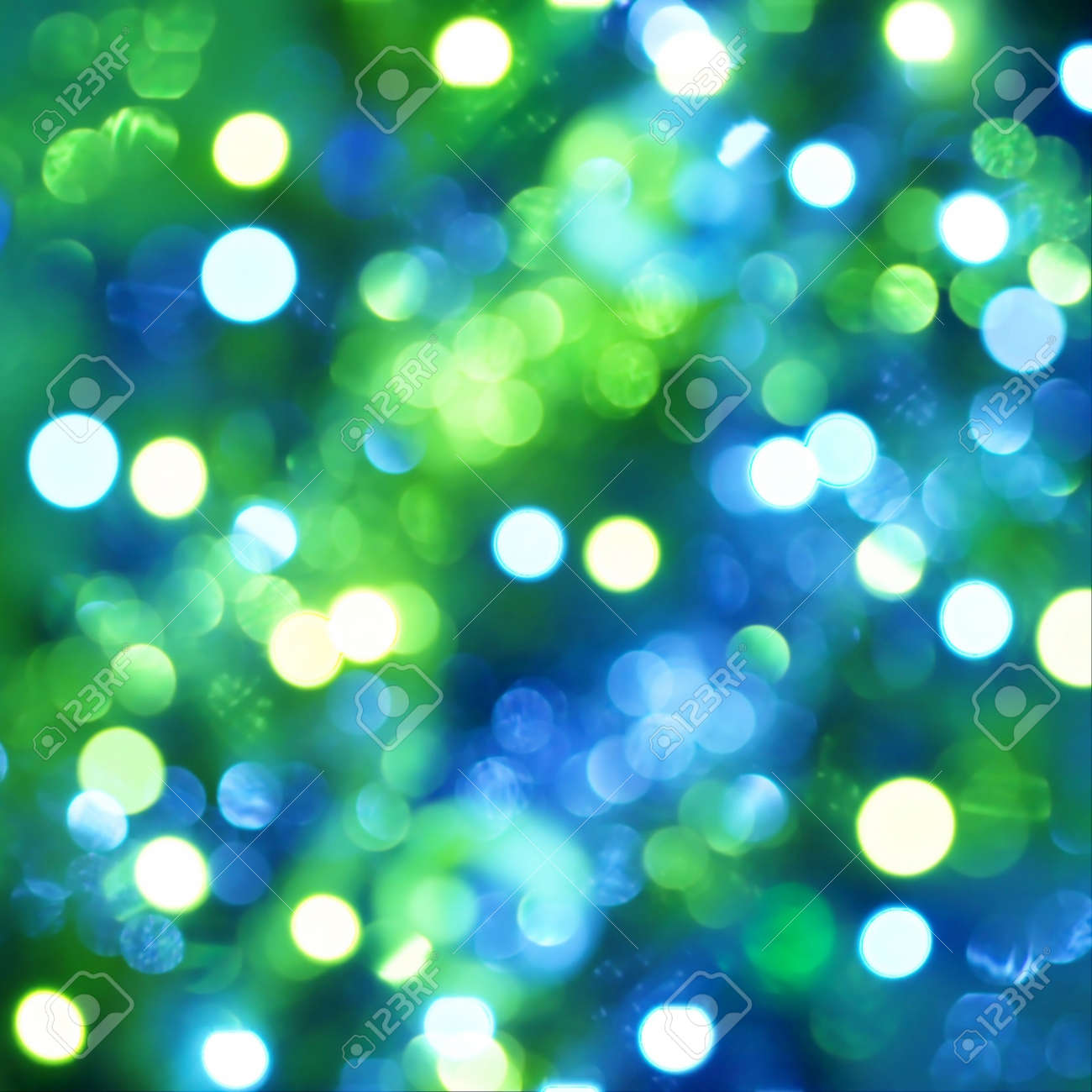 Defocused light dots background Stock Photo - 8203481