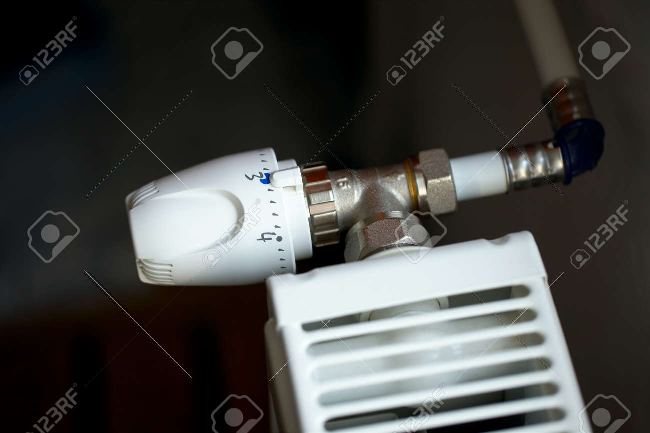 Heating radiator detail Stock Photo - 15904036