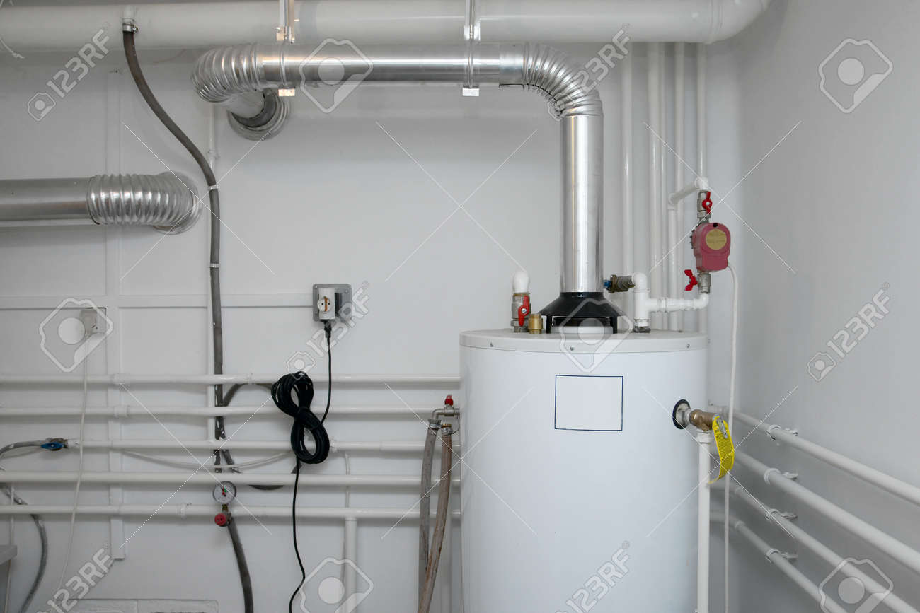 Pipes of a heating system - 32281678