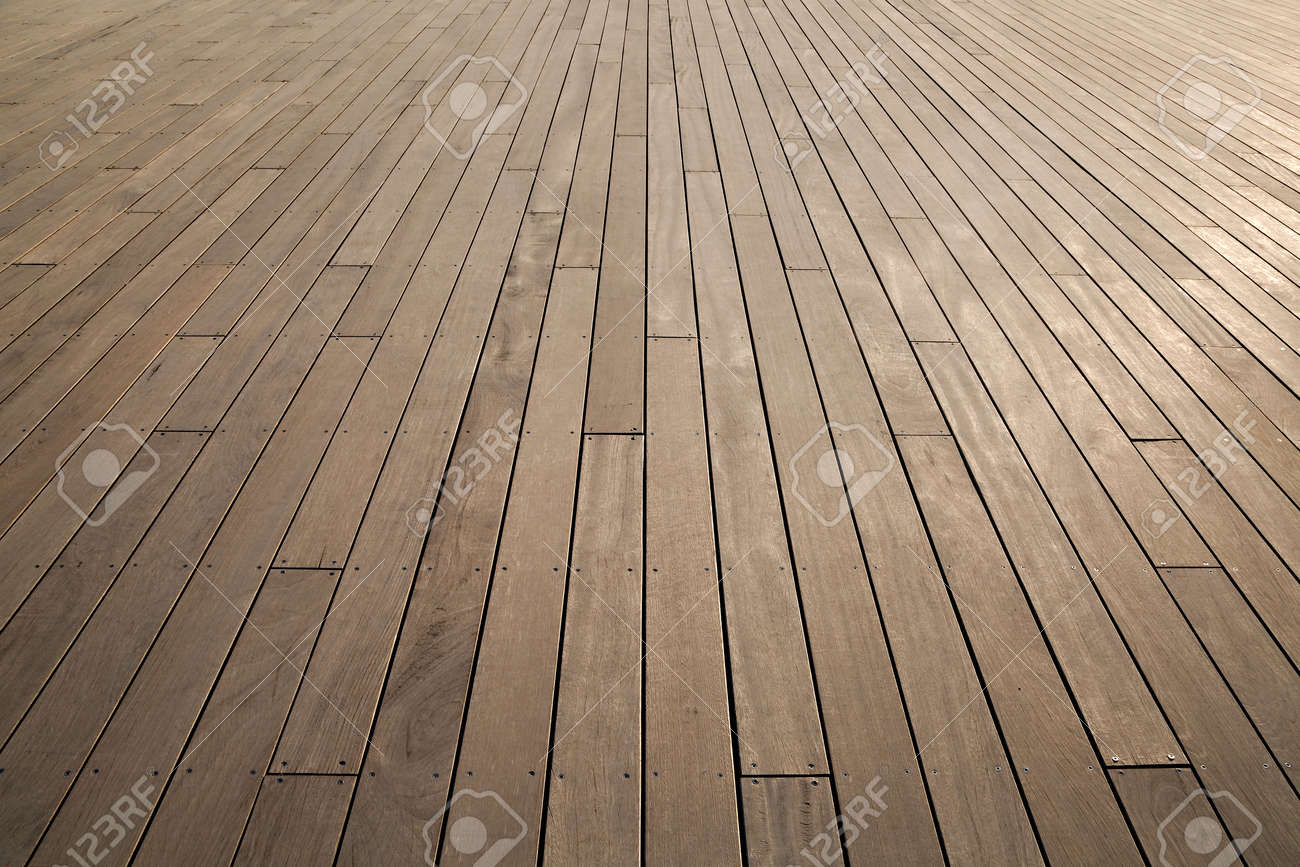 Wood Floor: Wooden Deck Background Lumber Pattern