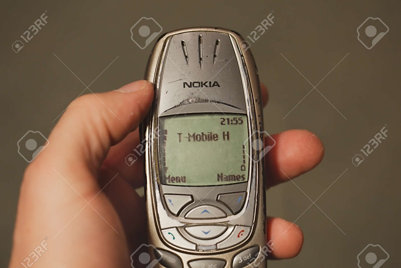 Old Nokia Mobile Phone Stock Photo Picture And Royalty Free Image Image 120451012