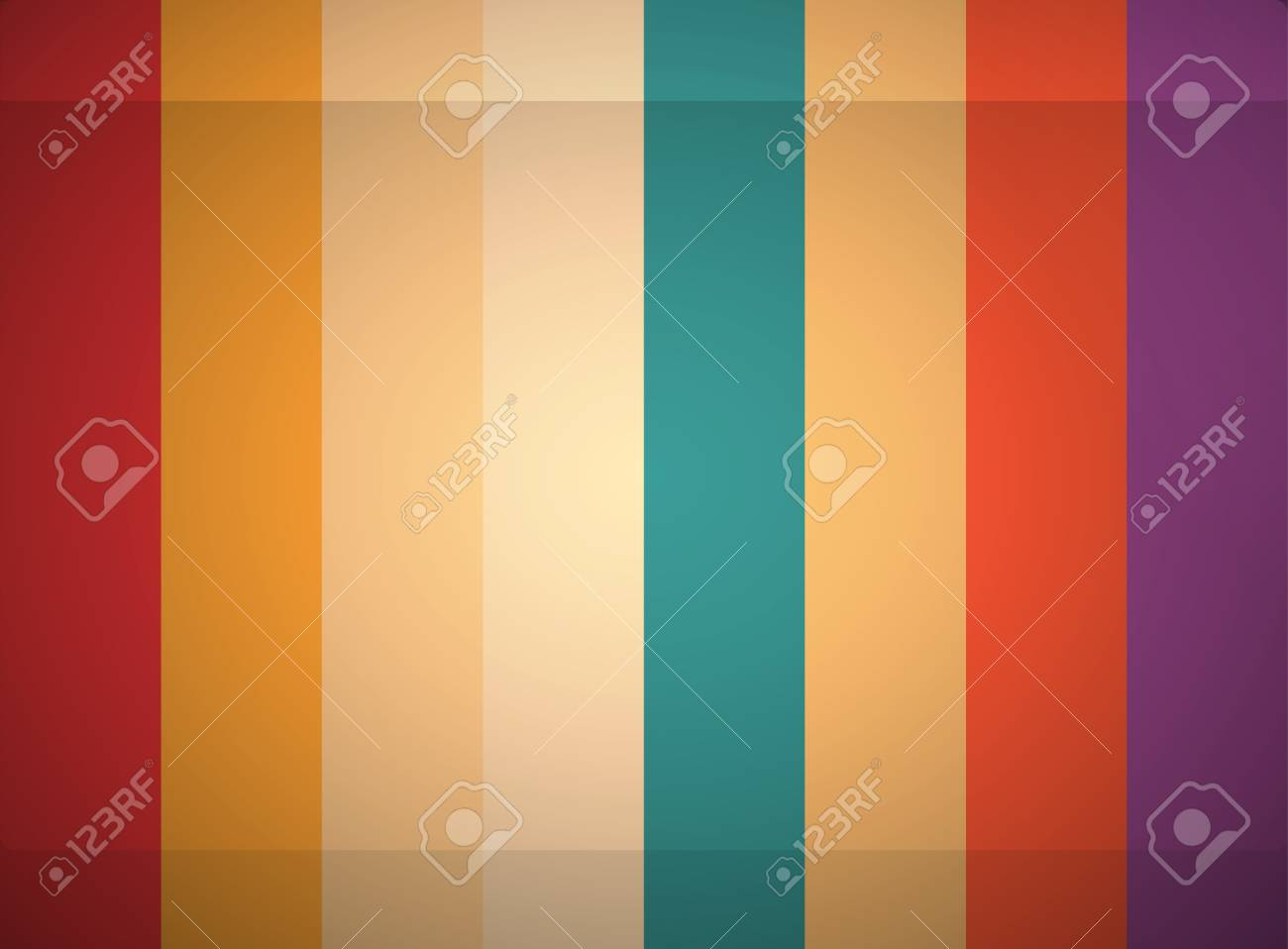 abstract color line background Stock Vector - 16665021