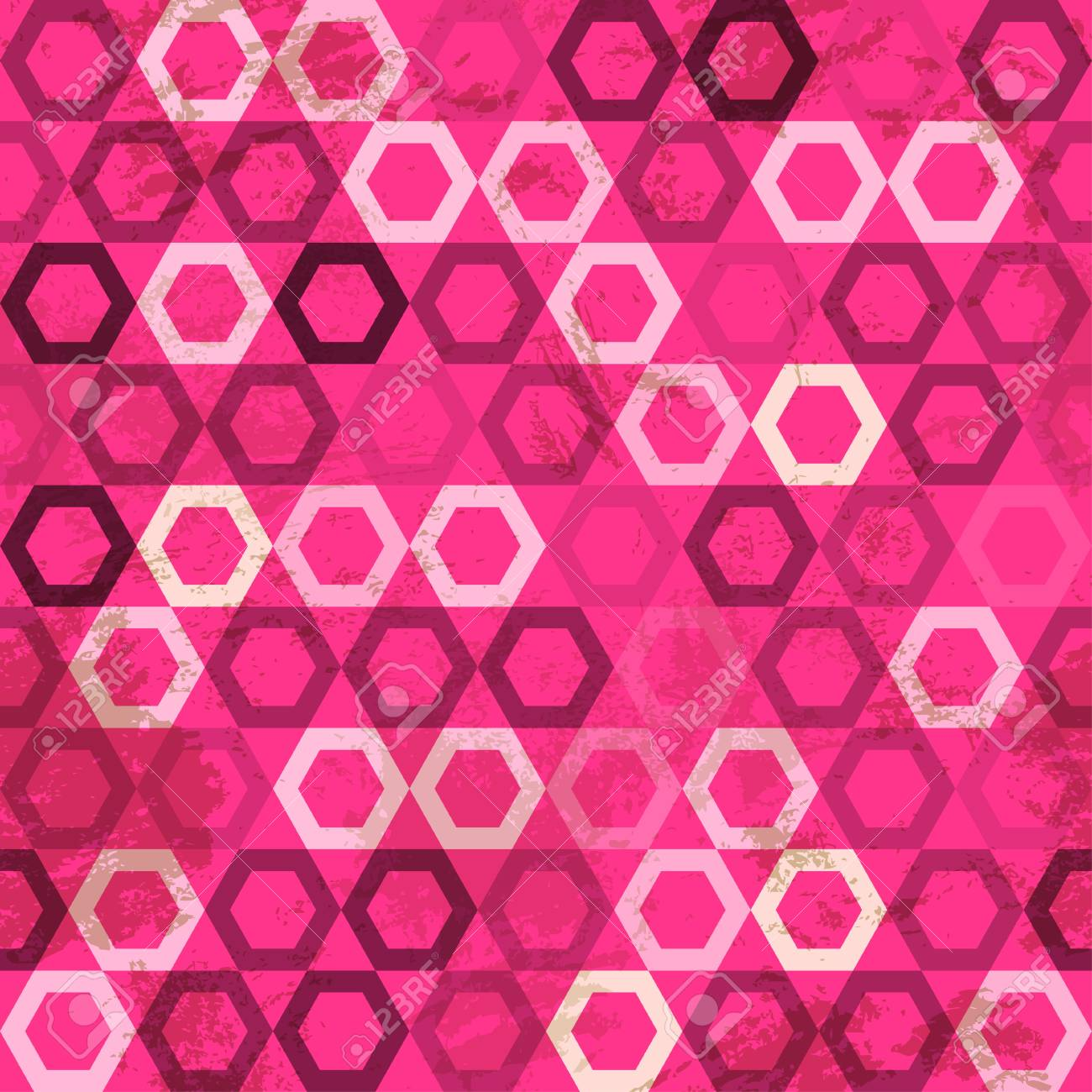 pink cell grunge seamless Stock Vector - 16665132