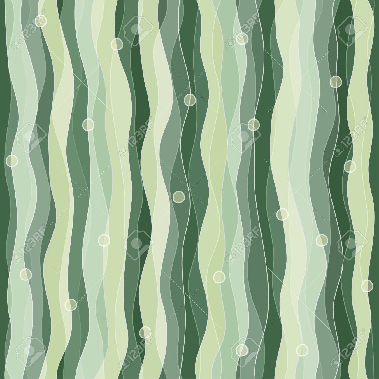 abstract seaweed seamless pattern Stock Vector - 17621416