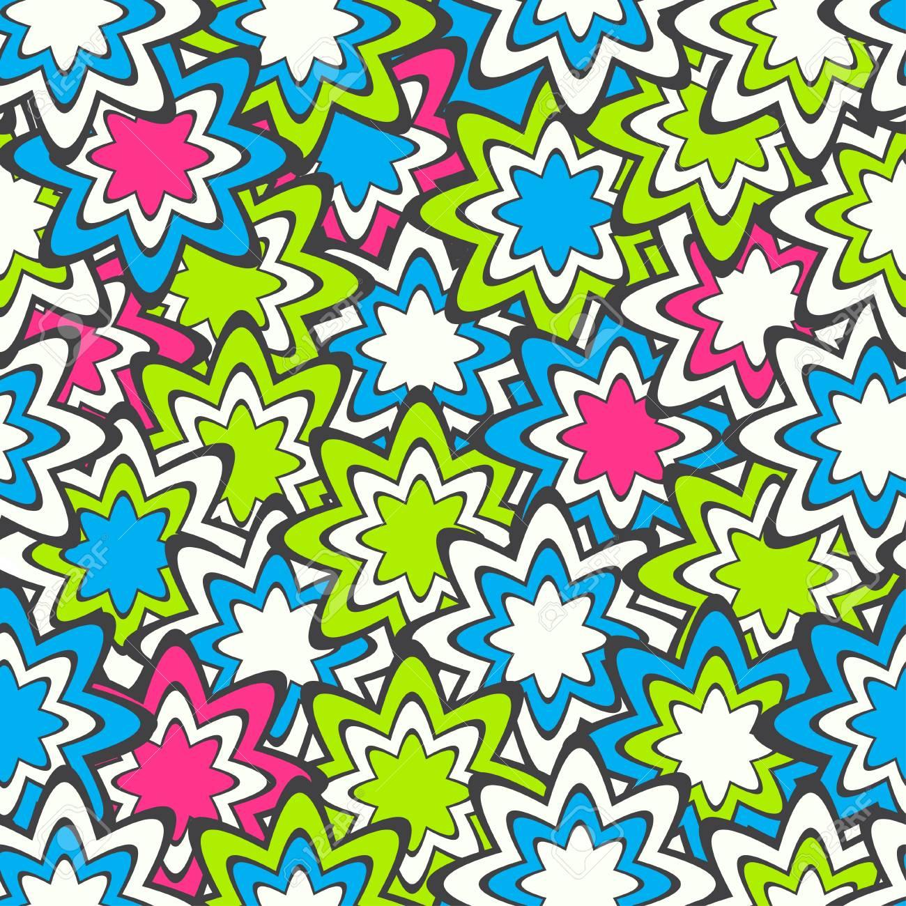 confetti seamless pattern Stock Vector - 17621412