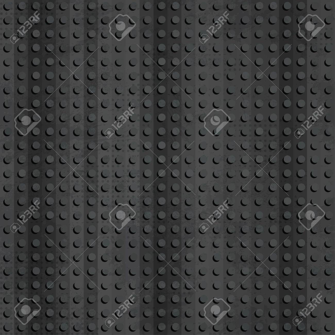 industrial rubber seamless pattern with grunge effect Stock Vector - 17621400
