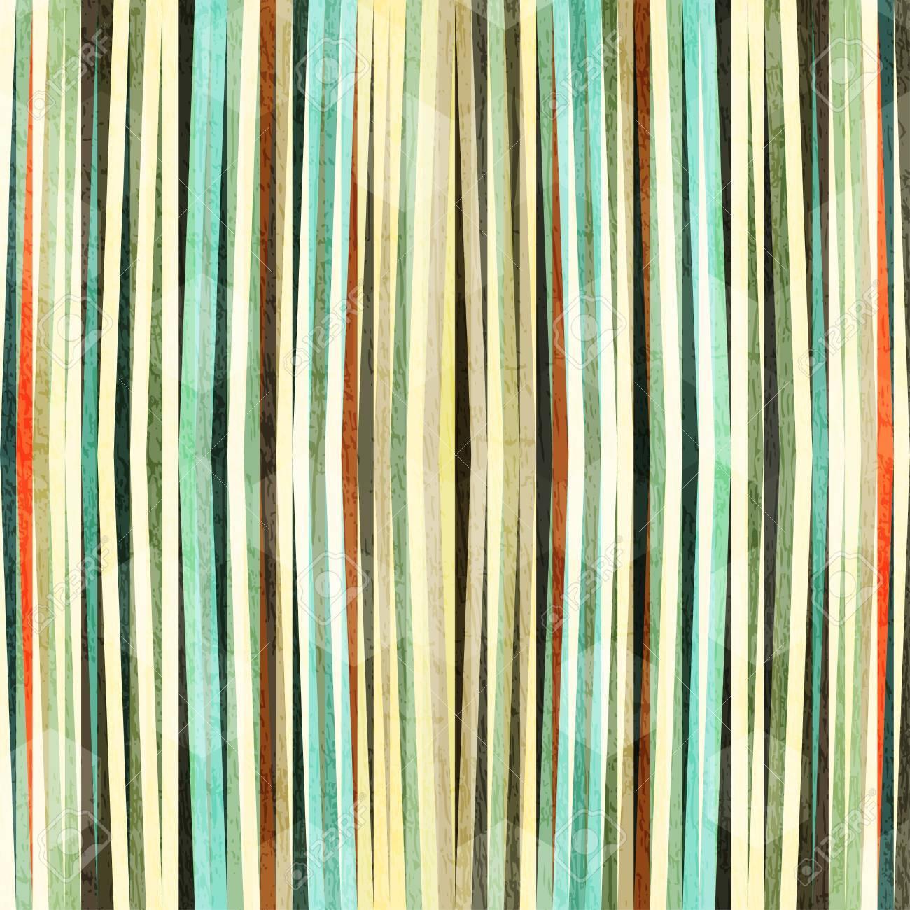retro grunge line seamless pattern Stock Vector - 17617088