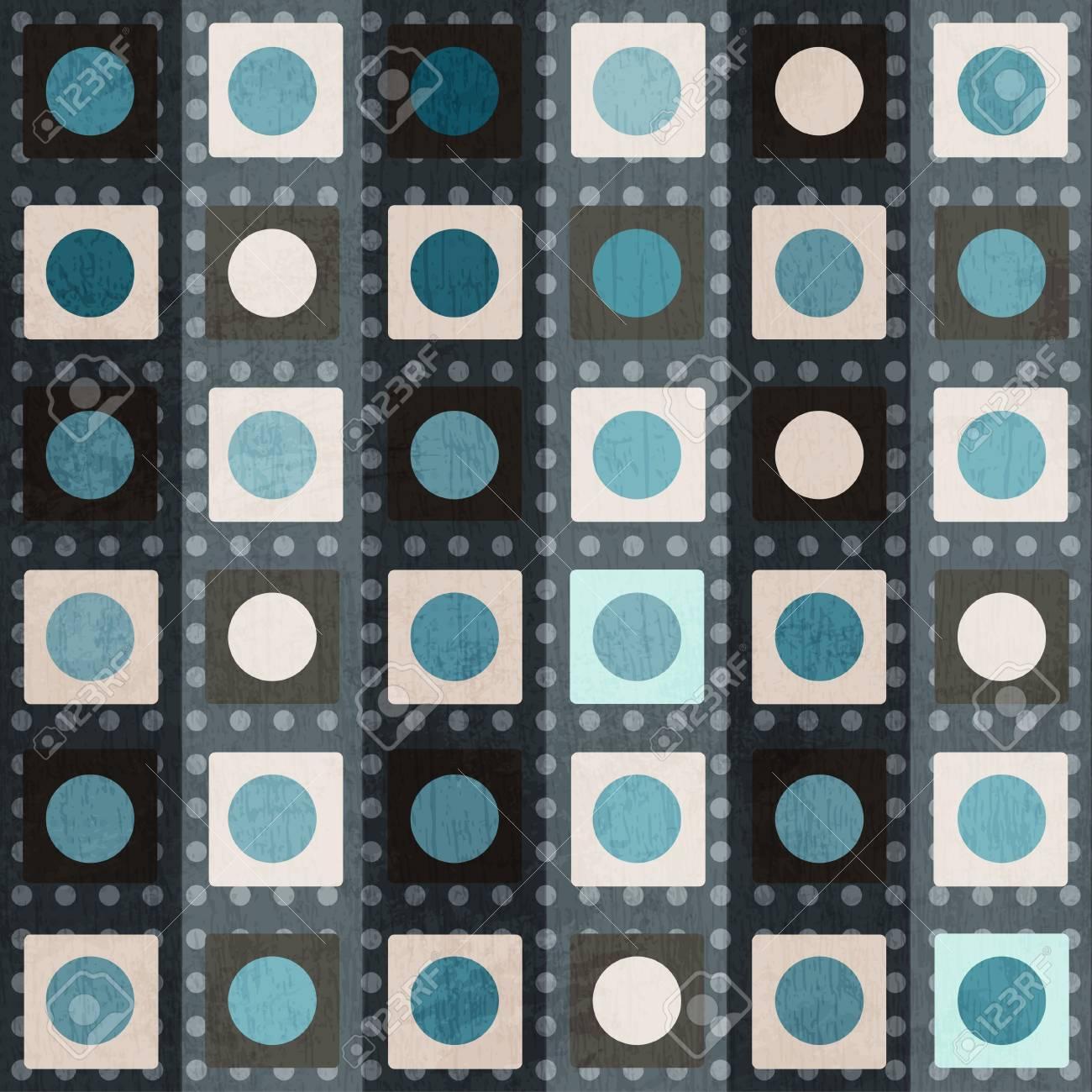 retro square seamless pattern Stock Vector - 17621522