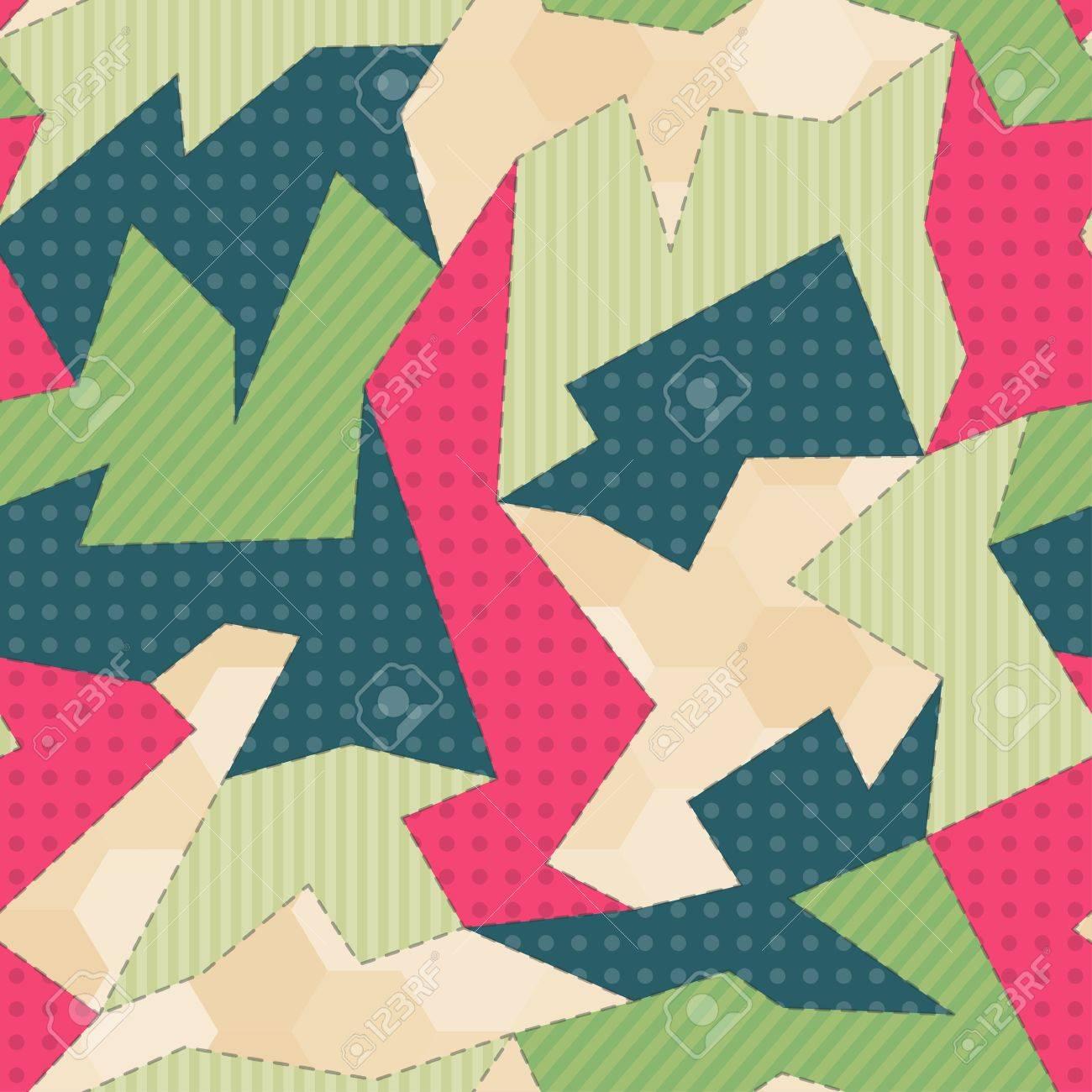 fabric seamless pattern Stock Vector - 21505036
