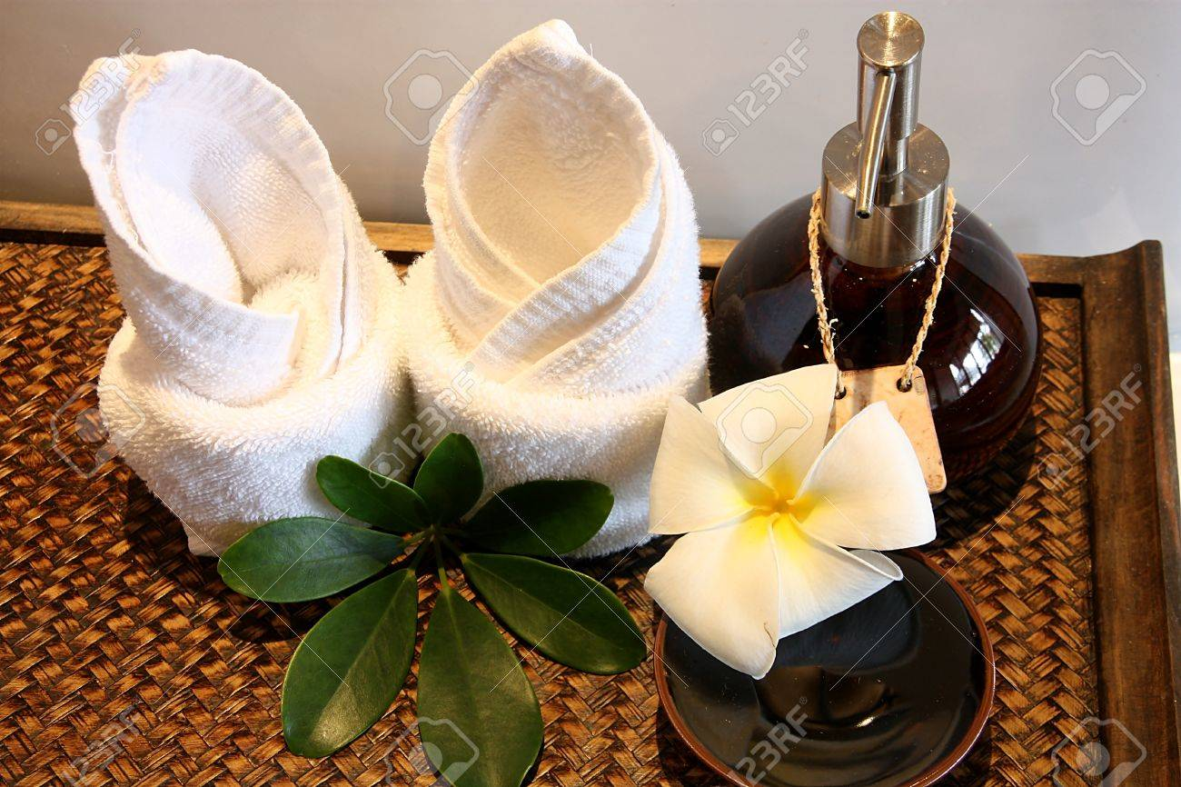 Spa Decoration Stock Photo, Picture And Royalty Free Image. Image ...