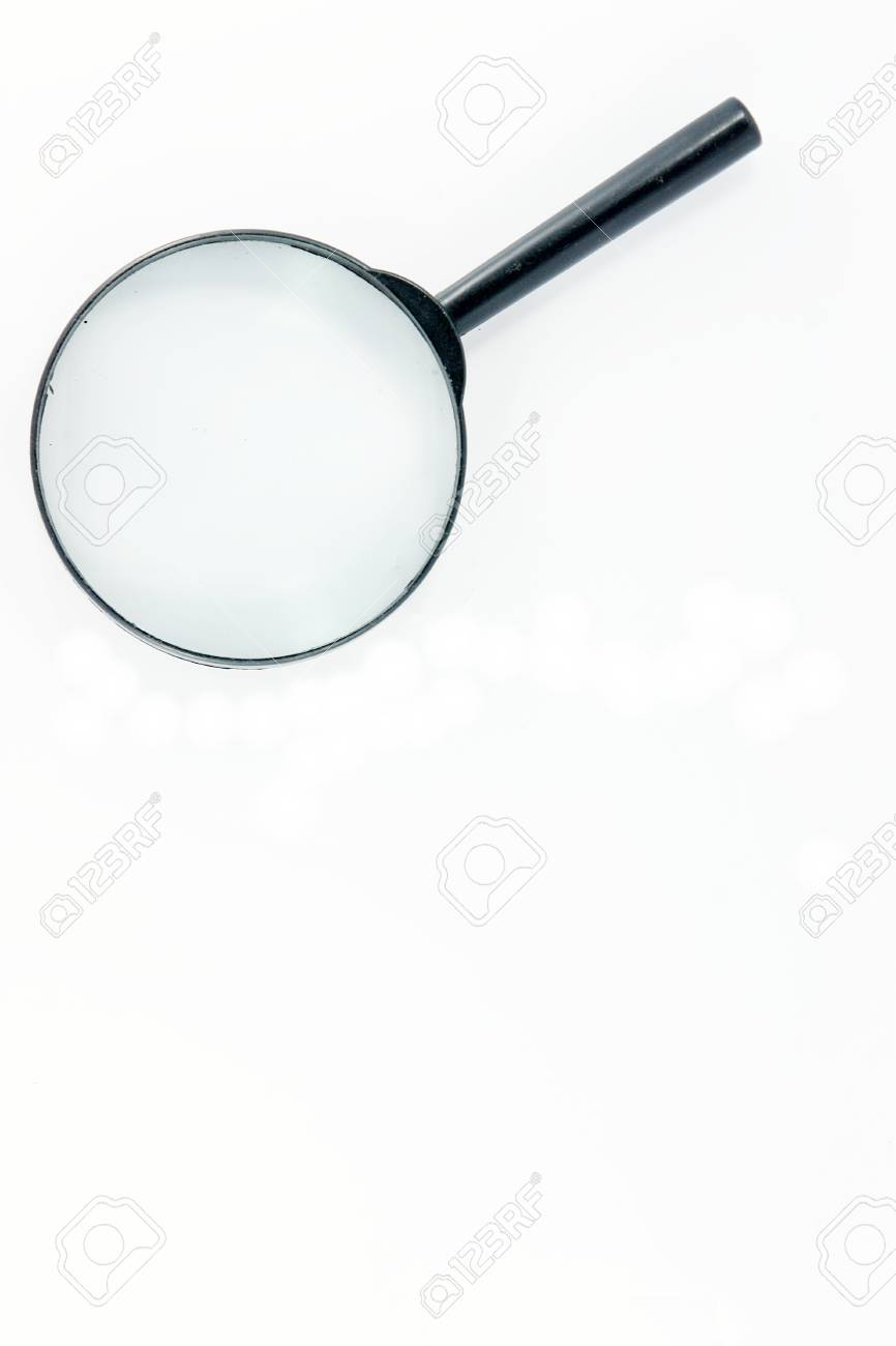 magnifying glass Stock Photo - 9623852