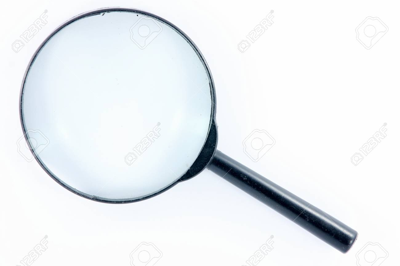 magnifying glass Stock Photo - 9623855