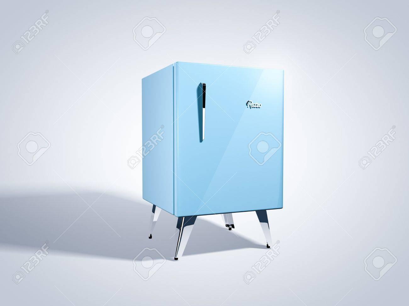 Retro Kühlschrank Gelb : Blaue retro kühlschrank lizenzfreie fotos bilder und stock