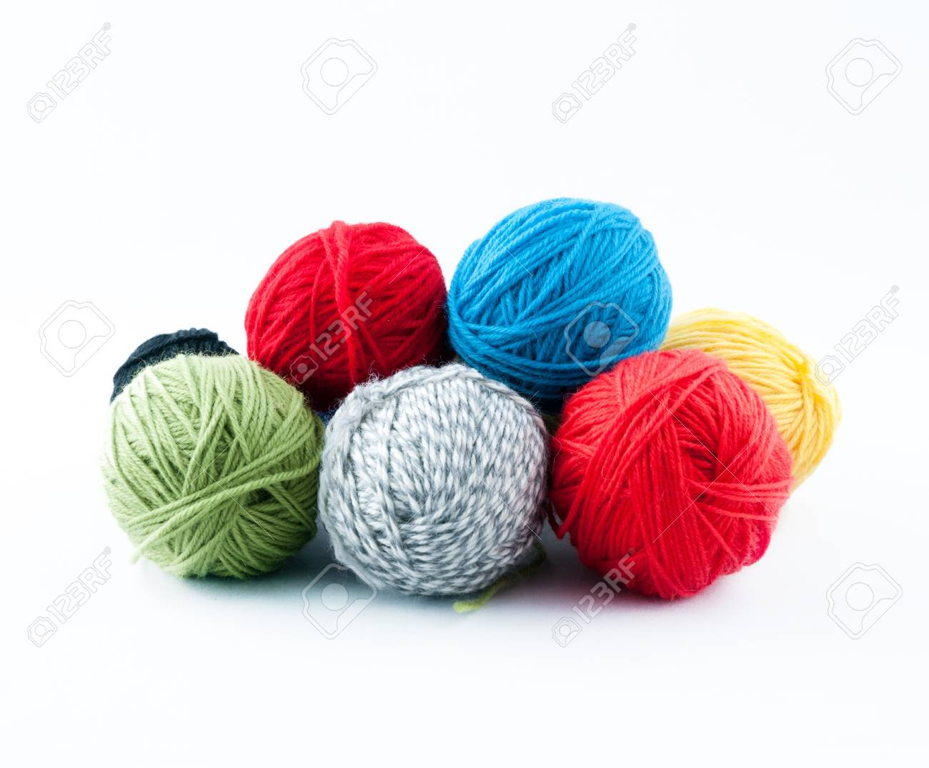 Colorful ball of yarn Stock Photo - 13299914