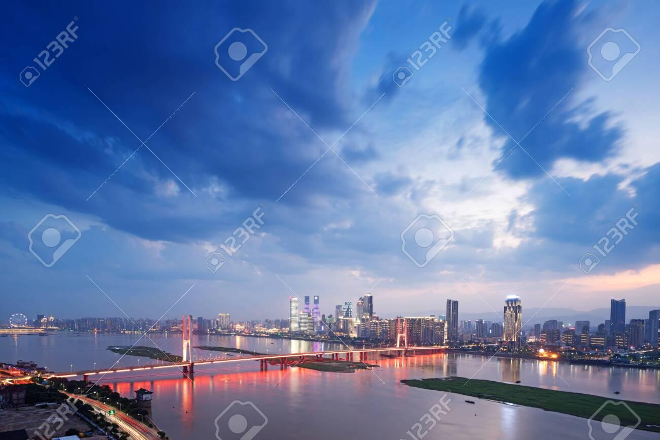 Shanghai night view - 139002924