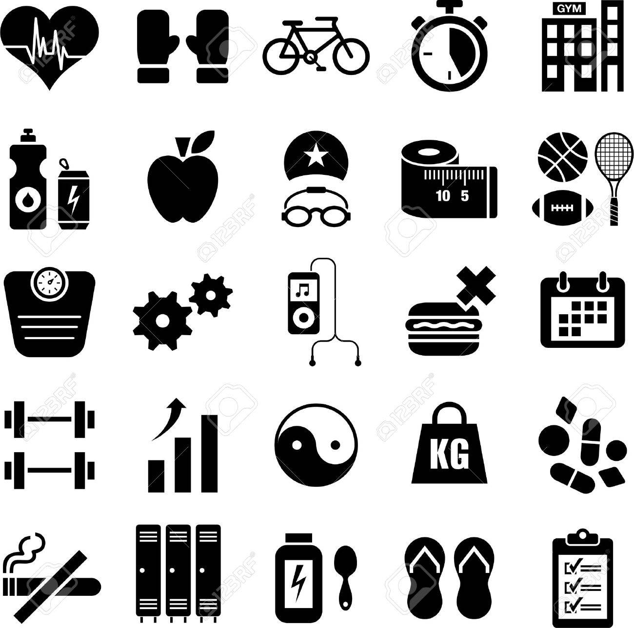 Wellness icon  Health And Wellness Icons Royalty Free Cliparts, Vectors, And Stock ...