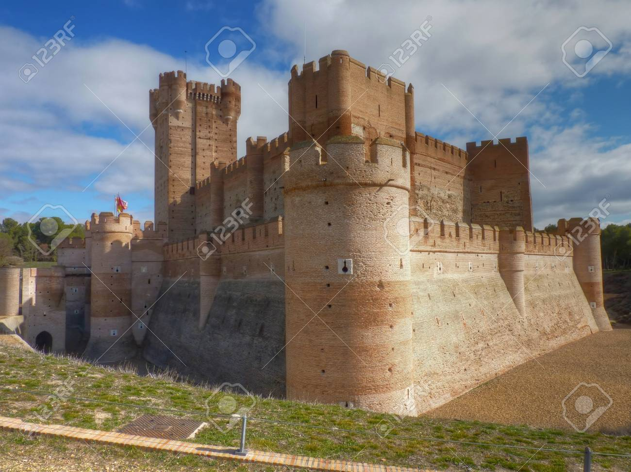 Castillo De La Mota Medina Del Campo Valladolid