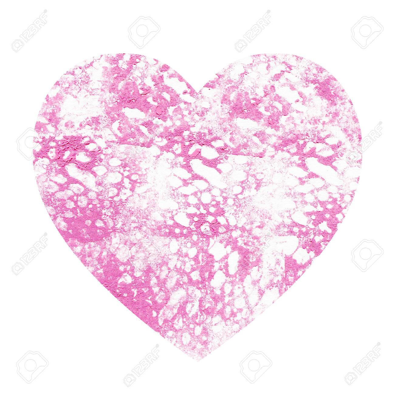 Heart With Abstract Pink Background White And Pink Spots And Stock Photo Picture And Royalty Free Image Image 139222290