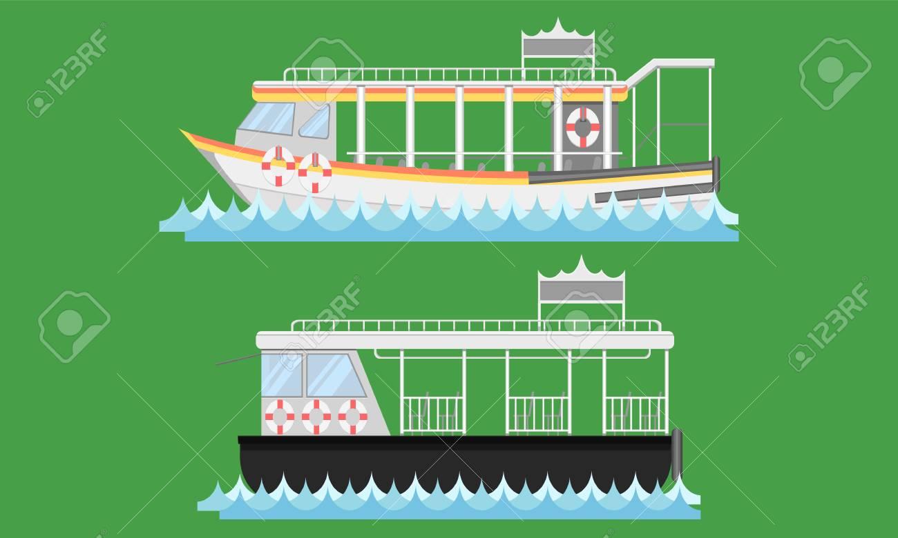 Express boat ship boat vesselcraft barge ark river water Lifebuoy