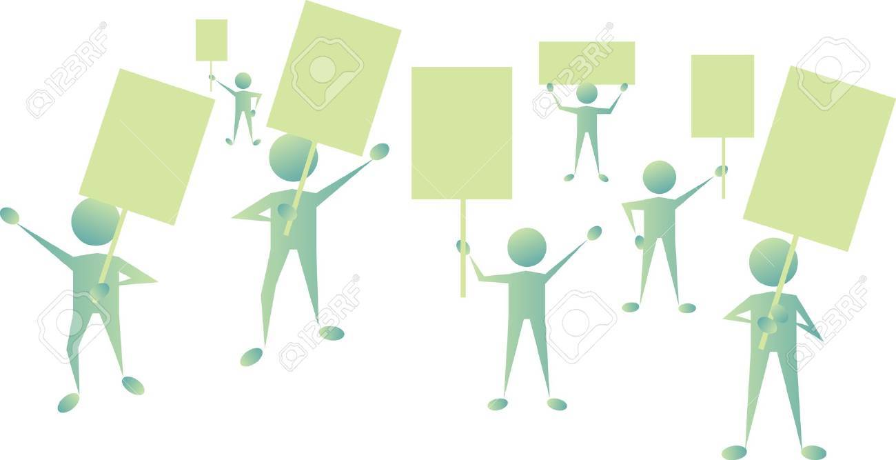 protest Stock Vector - 10179156