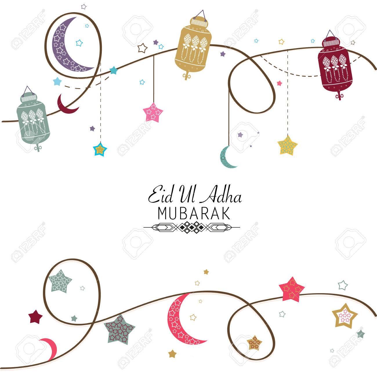 Islamic Festival Of Sacrifice Eid Ul Adha Celebration Greeting