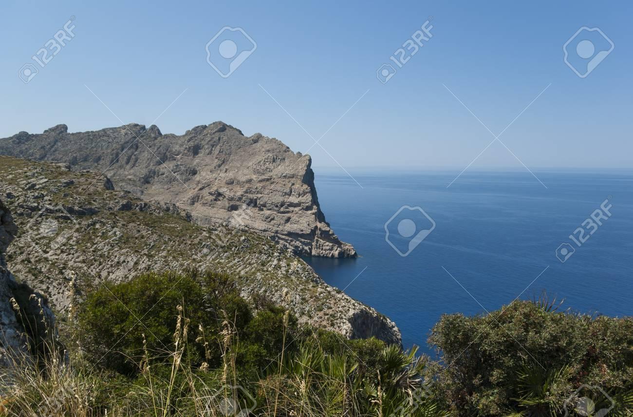 Cap de Formentor - northern end of Mallorca, Spain Stock Photo - 20941826