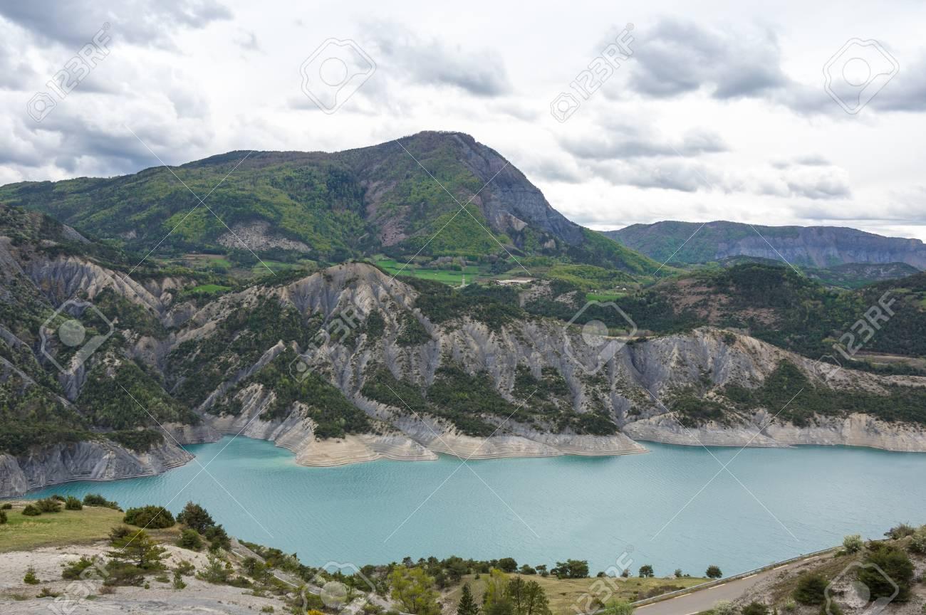 Lac Serre Poncon : Lac de serre poncon motorradtour frankreich bikerdream