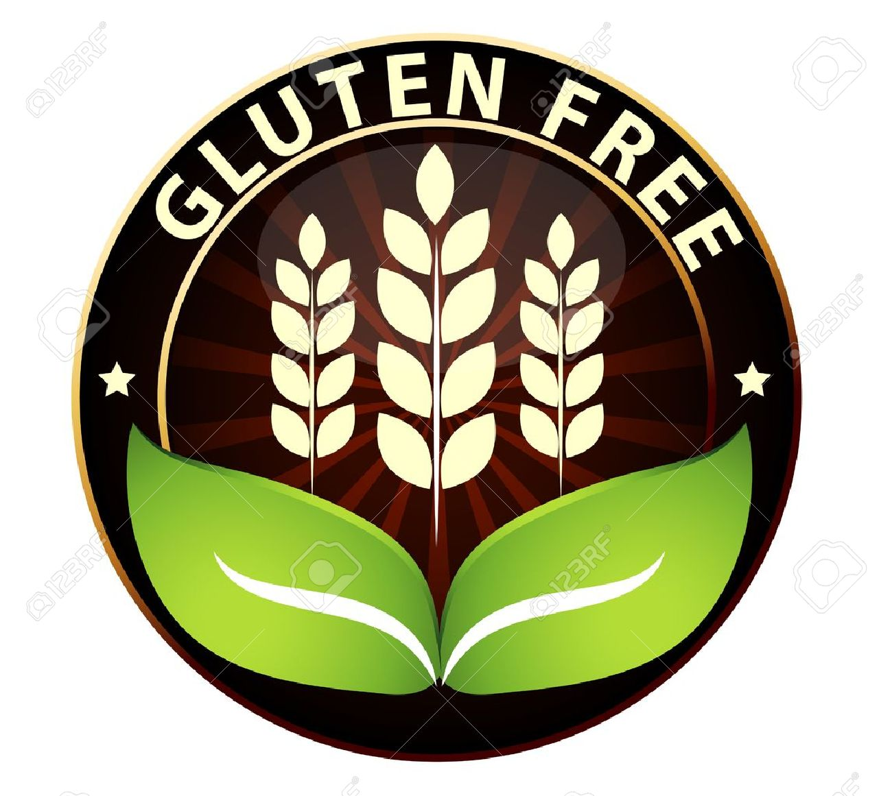 Beautiful gluten free food packaging sign can be used as a stamp beautiful gluten free food packaging sign can be used as a stamp emblem seal biocorpaavc Gallery