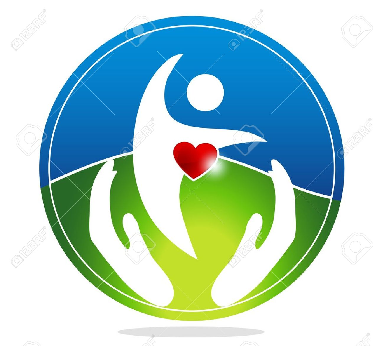Healthy human and healthy heart symbol the heart shape symbolizes healthy human and healthy heart symbol the heart shape symbolizes healthy heart beating and healthy buycottarizona Image collections
