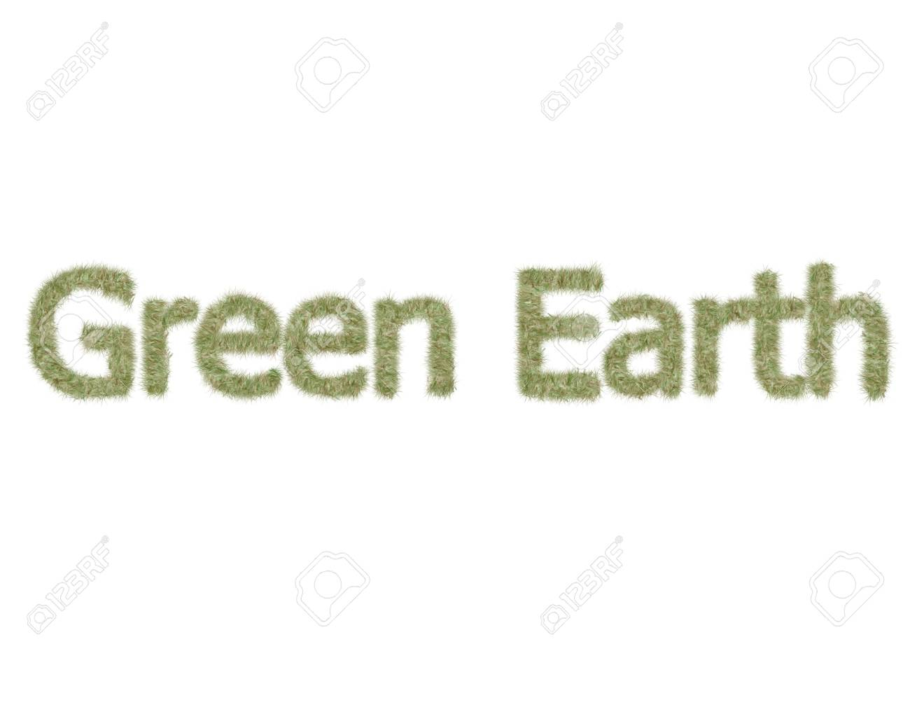 Green Earth Stock Photo - 10551371