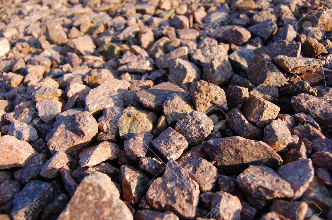 texture of gravel can be used as background Stock Photo - 4002973