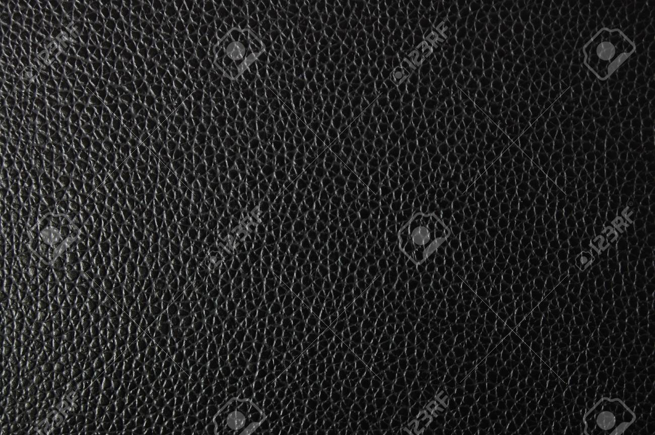black leather texture can be used as background Stock Photo - 4583273