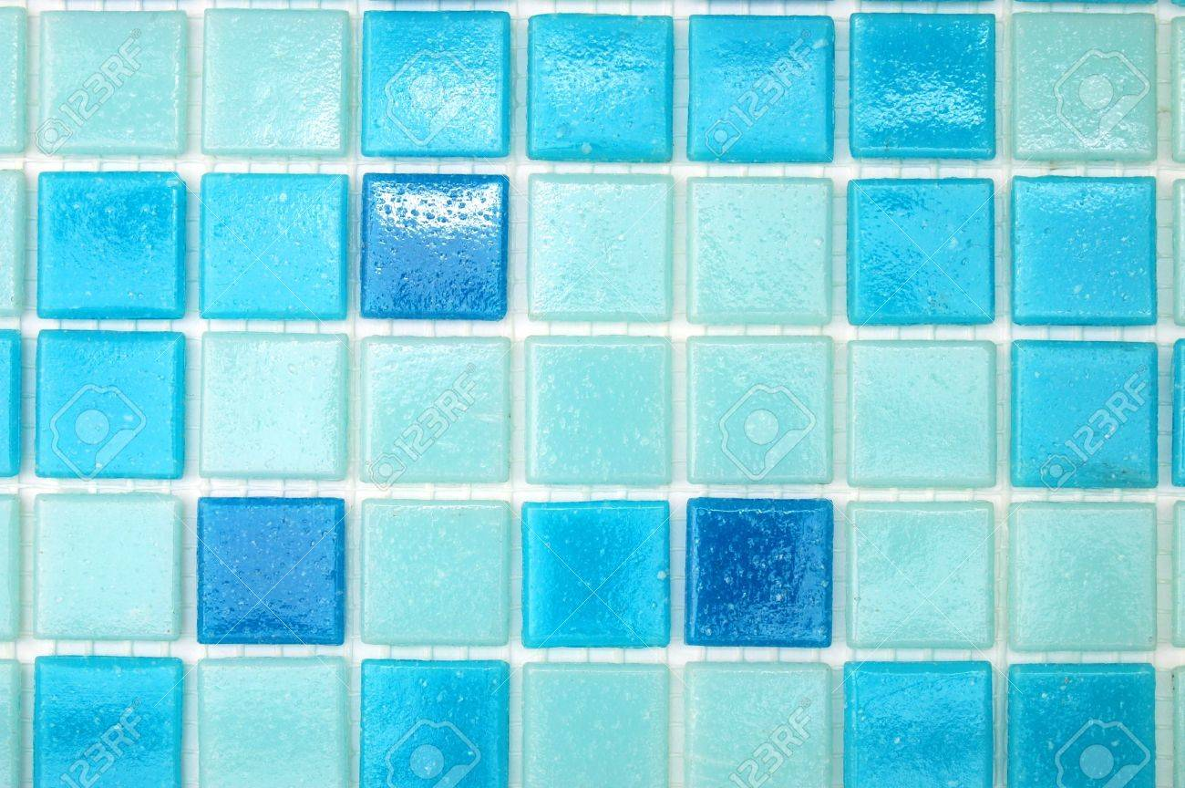 Bathroom Tiles Background mosaic of tiles in the bathroom as a background stock photo