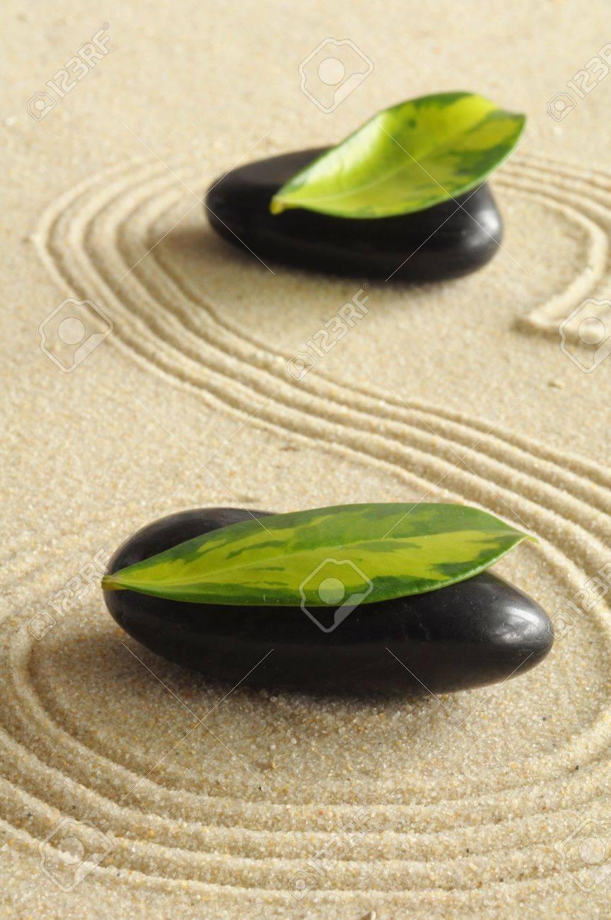 spa still life with zen like stones Stock Photo - 6053804