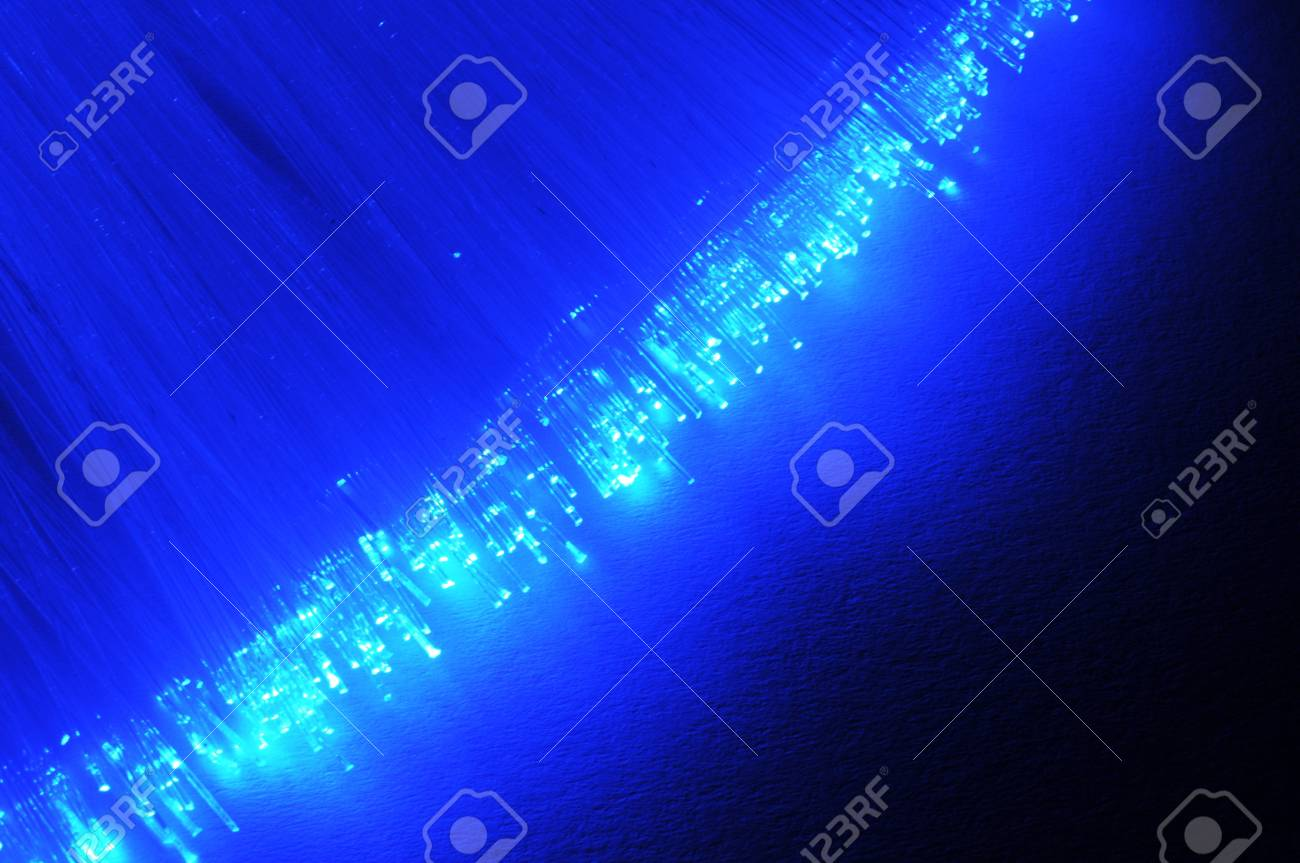 cable of fiber optics showing technology or communication concept Stock Photo - 6080468