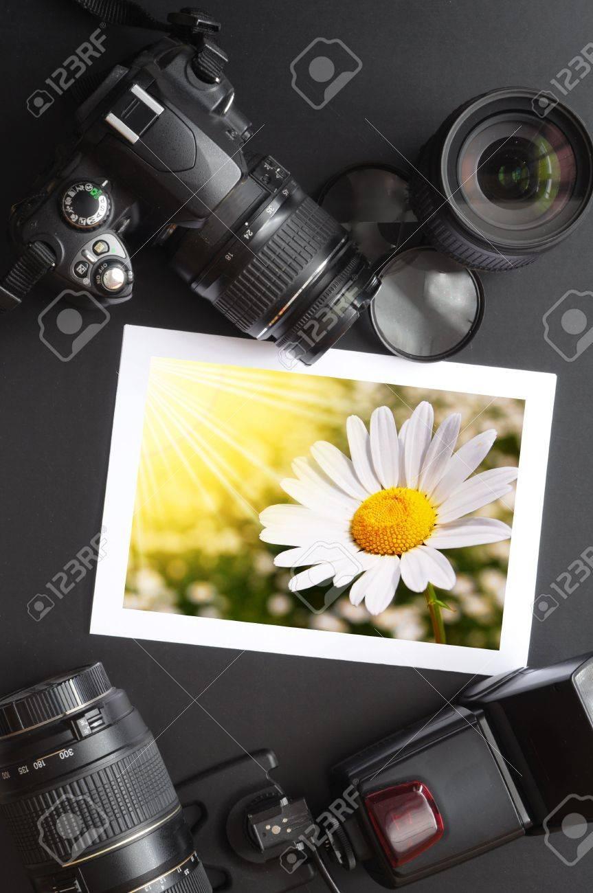 photography equipment like dslr camera  and image Stock Photo - 6198849