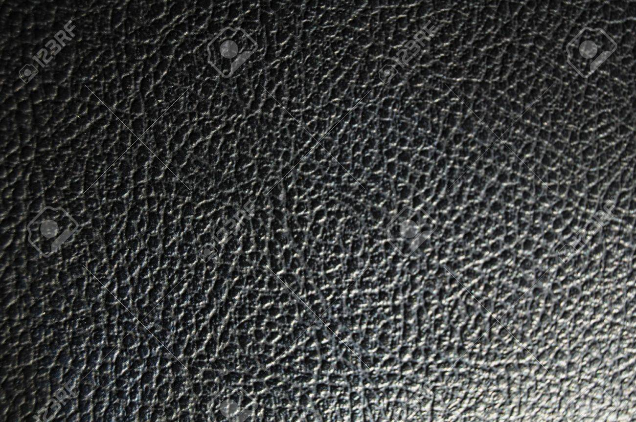 black leather texture background or wallpaper with copyspace Stock Photo - 6996071