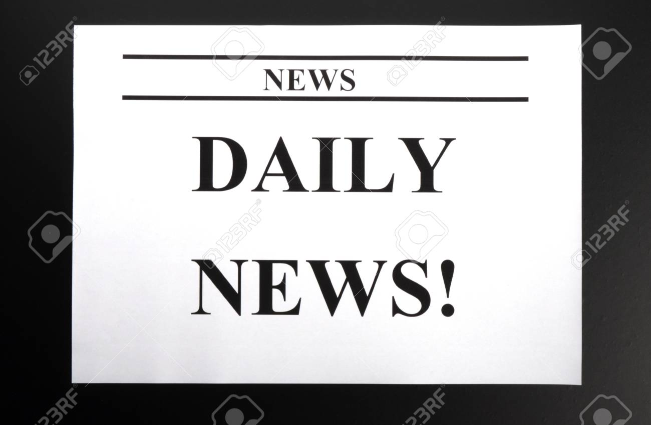 newspaper newsletter or news concept with pile of papers Stock Photo - 8423942