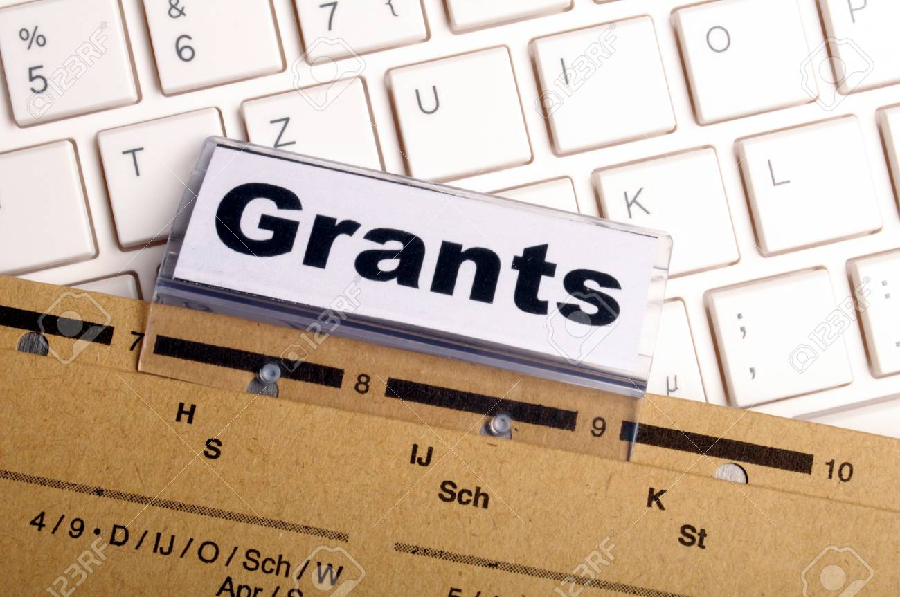 grants word on paper folder showing scholarship or higher education concept Stock Photo - 8469910