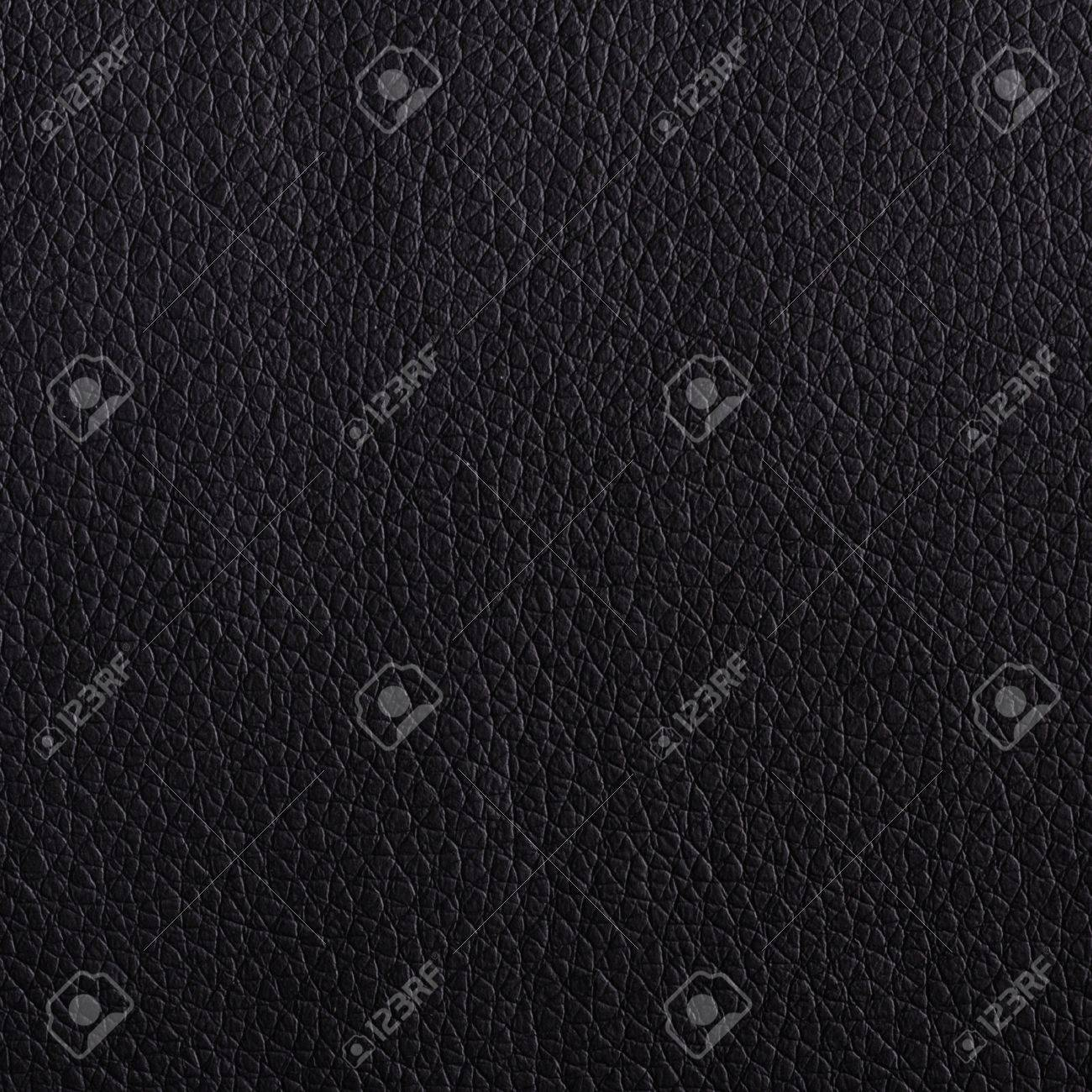 leather texture or background in black with copyspace Stock Photo - 9083776