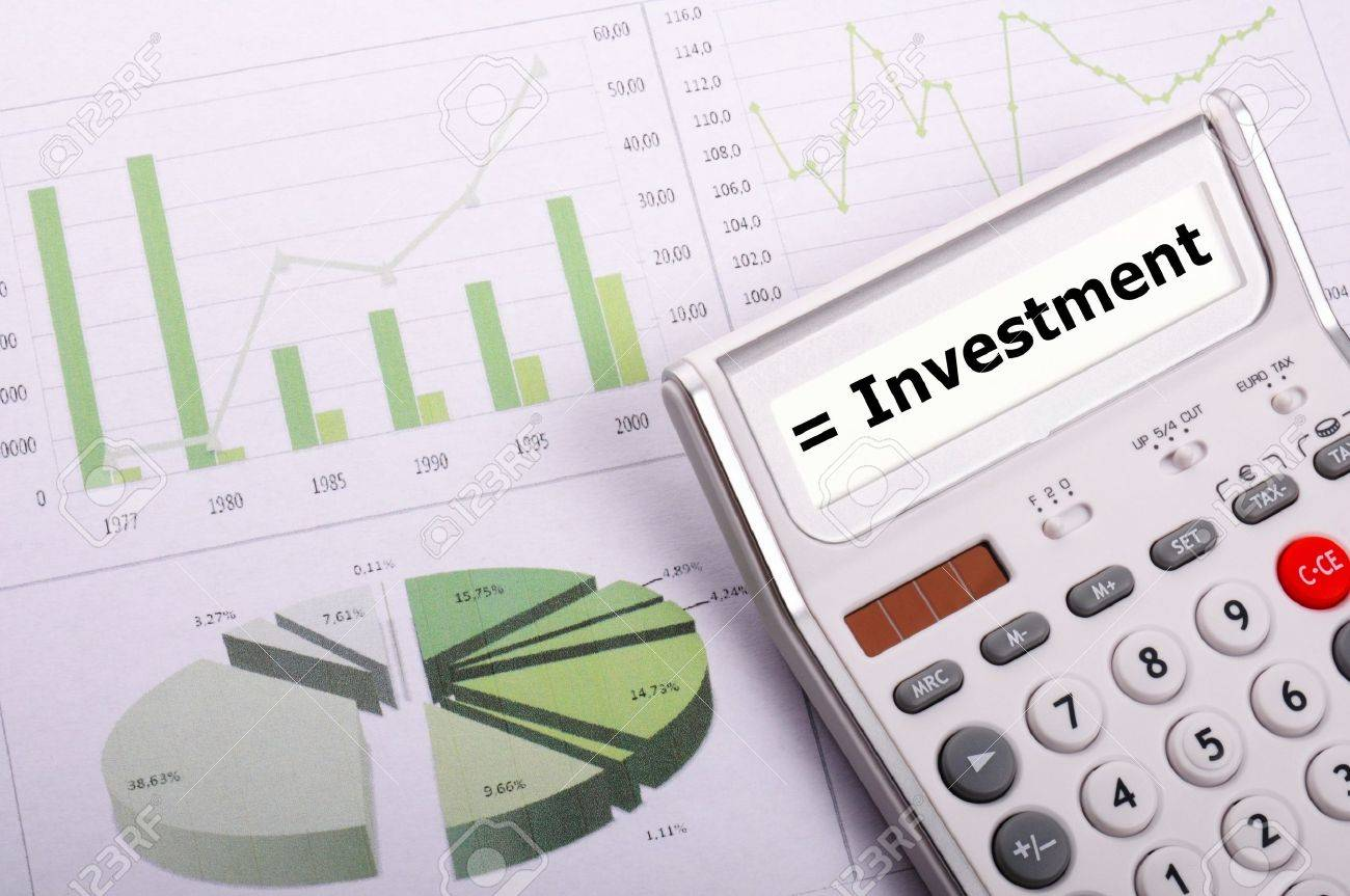investment or invest money concept showing financial success Stock Photo - 9594656