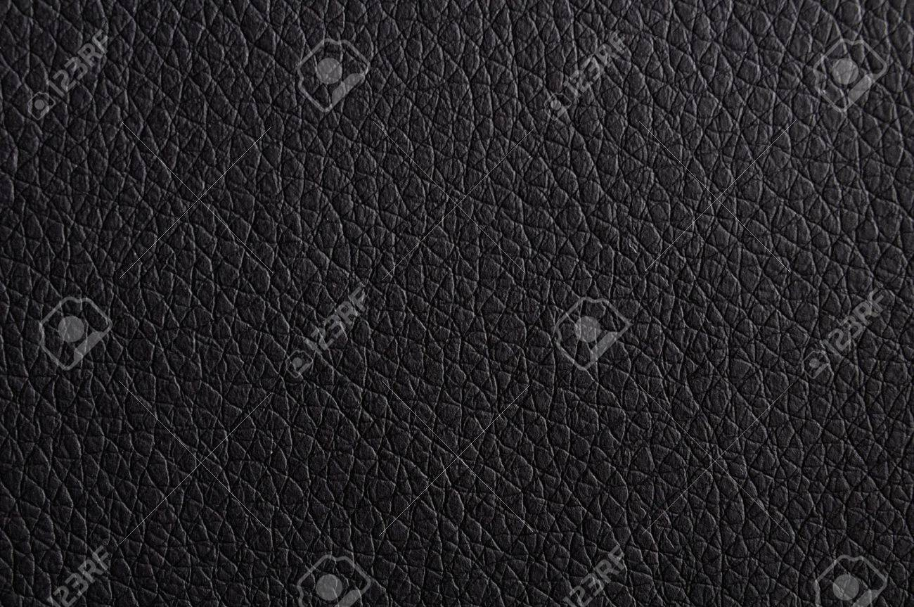 black leather texture background surface or wallpaper with copyspace Stock Photo - 9771560