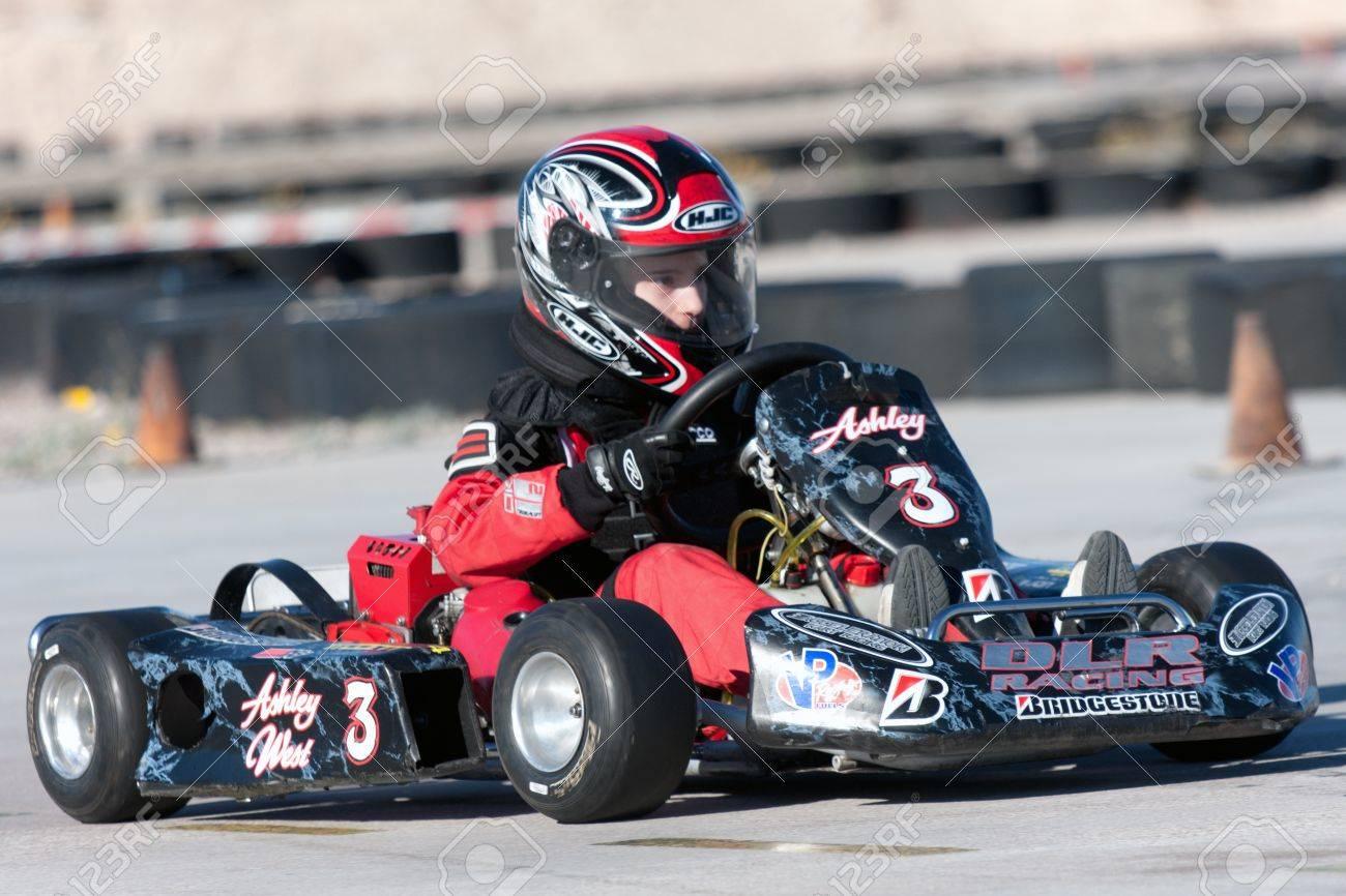 kart over nevada LAS VEGAS NEVADA   February 04: Go Kart Race At The Las Vegas  kart over nevada