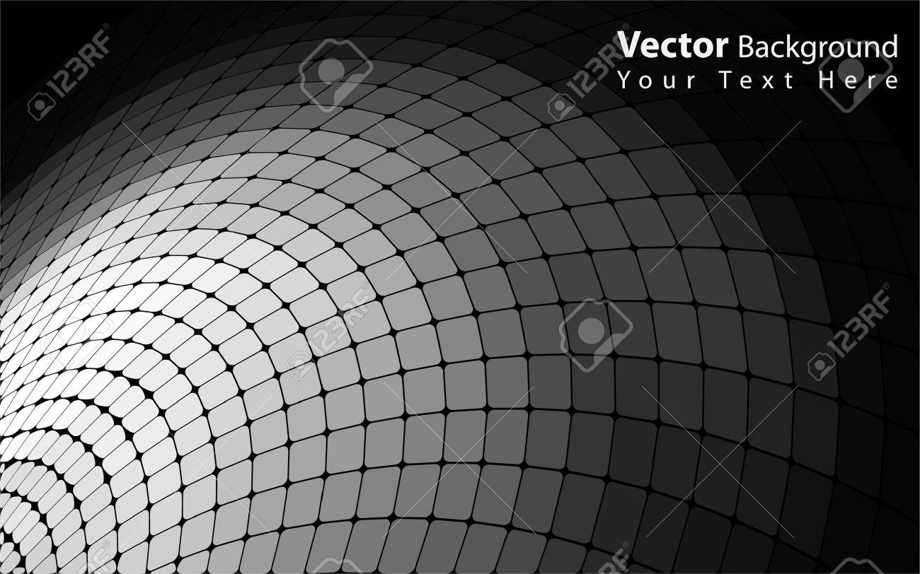 Vector abstract grayscale background Stock Vector - 10317375
