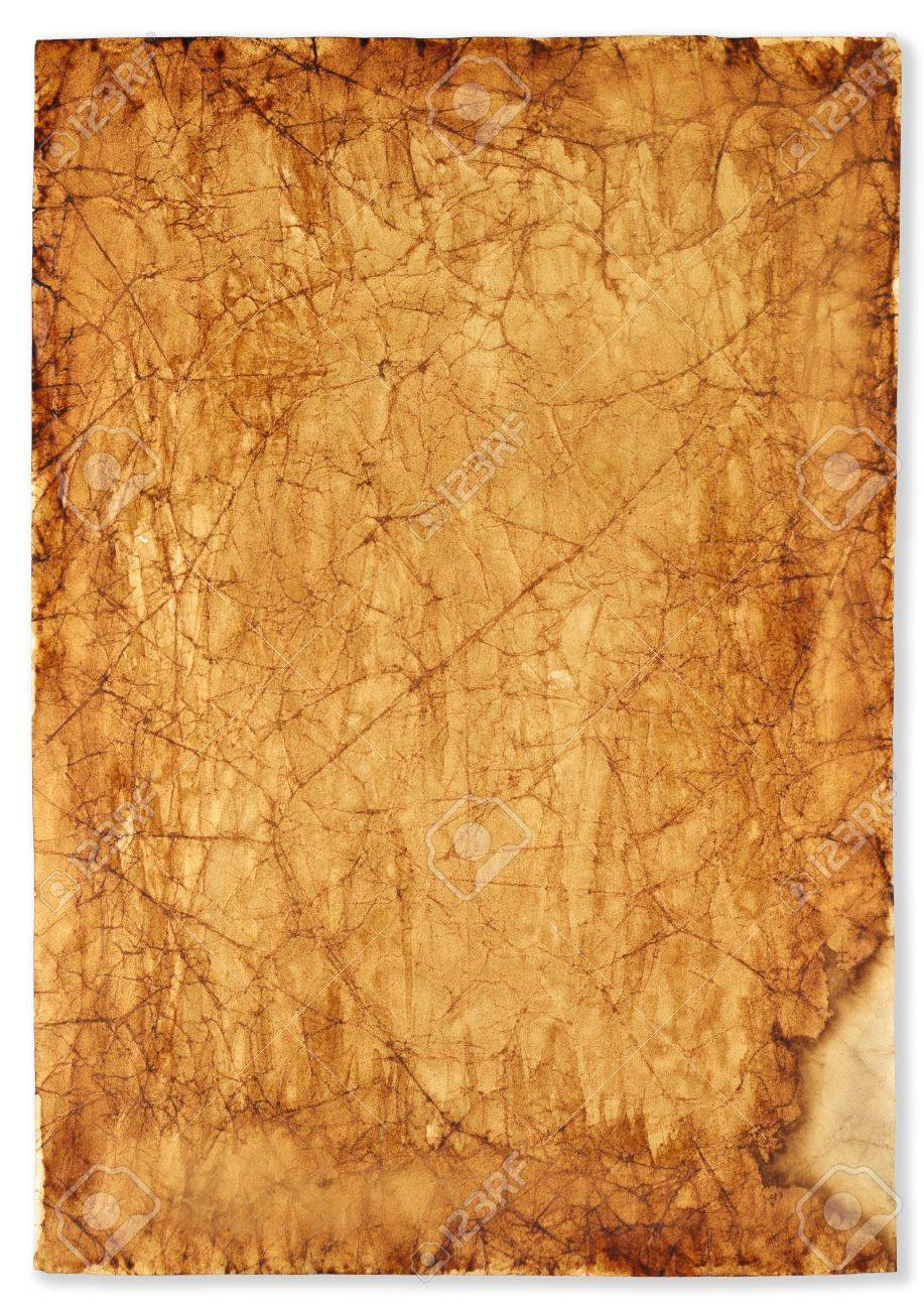background old, burnt paper Stock Photo - 16466799
