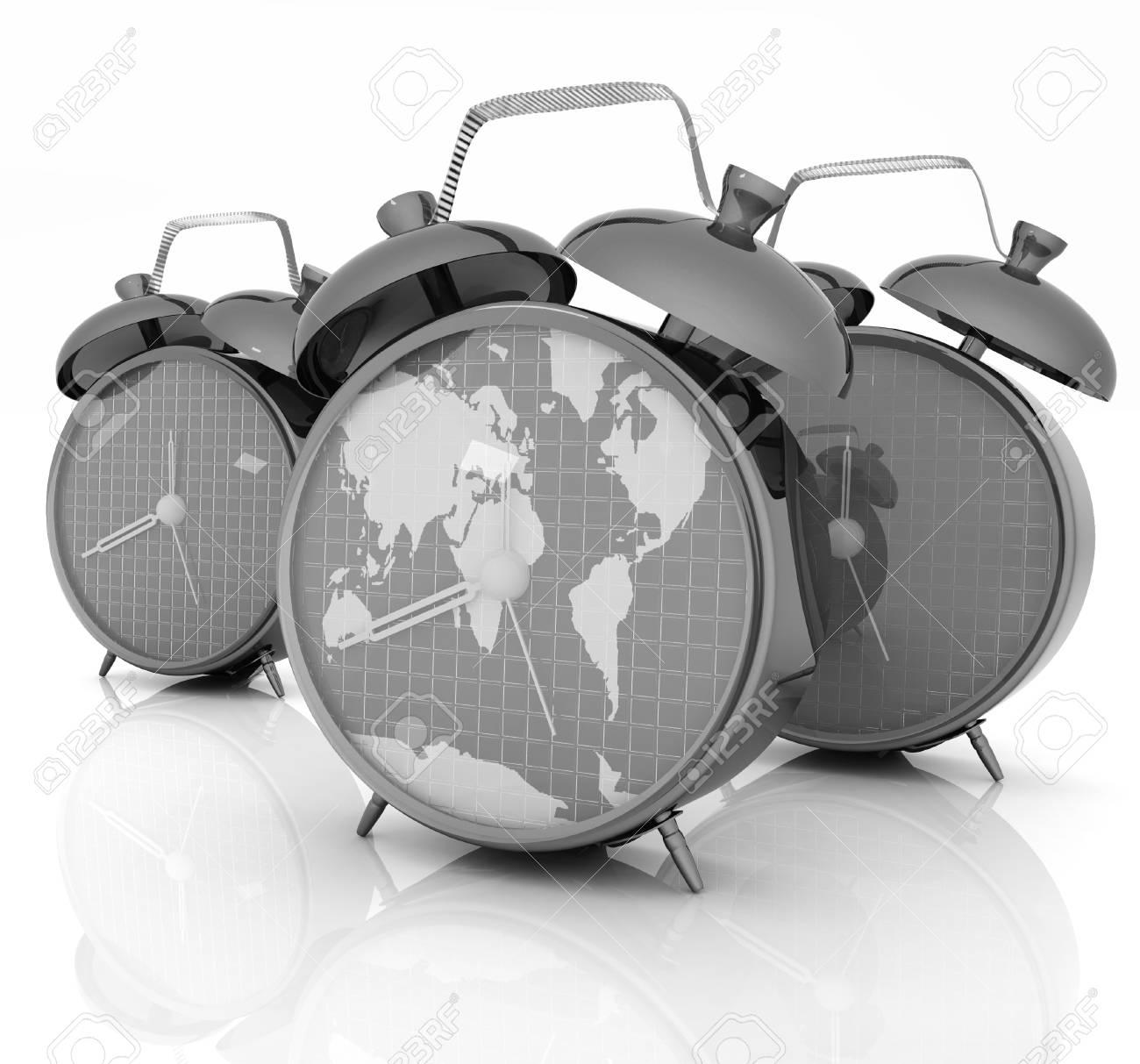 Alarm clock of world map and alarm clocks stock photo picture and alarm clock of world map and alarm clocks stock photo 32206140 gumiabroncs Image collections