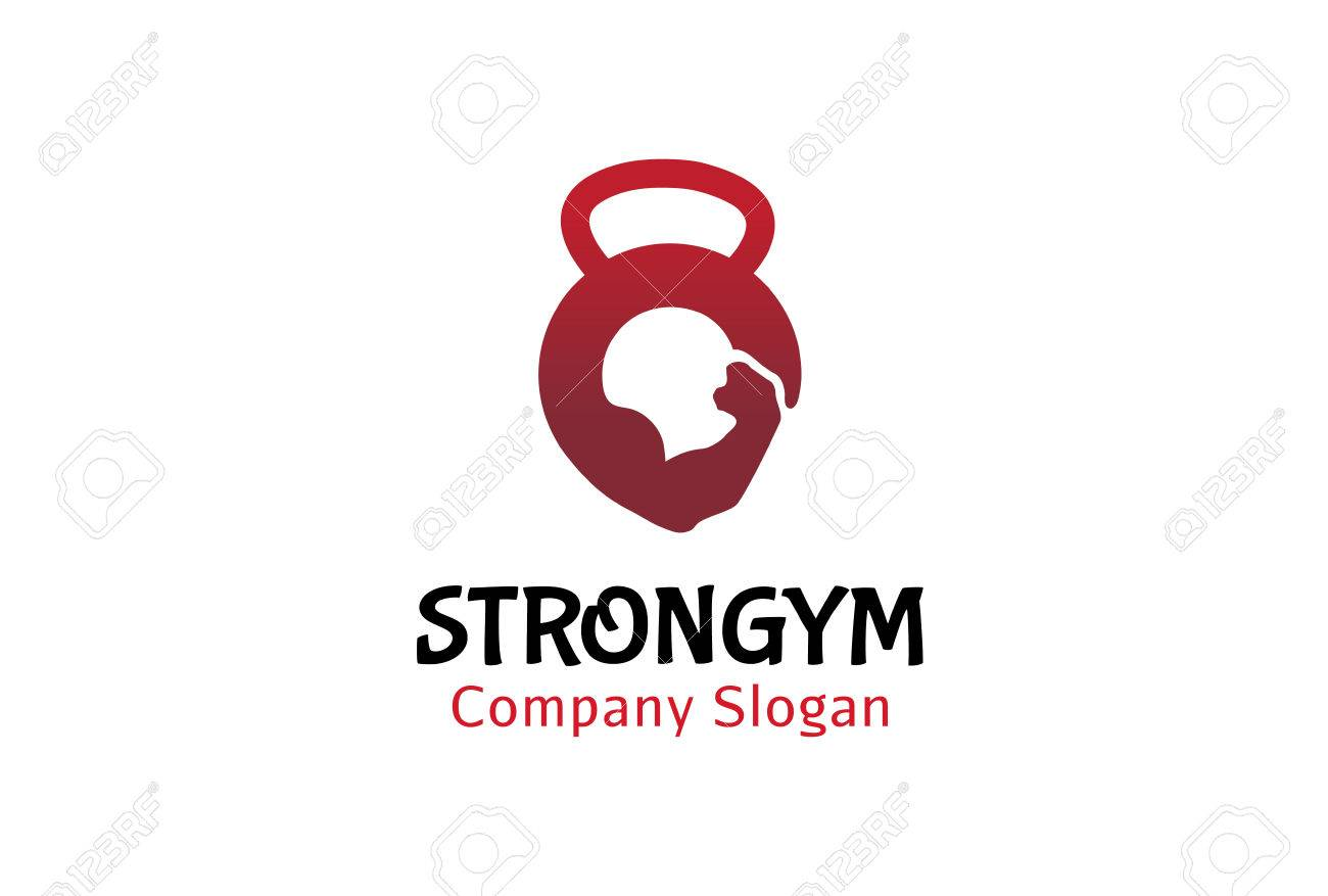 Strong Gym Logo Design Illustration Royalty Free Cliparts, Vectors ... for Gym Logo Pictures  117dqh