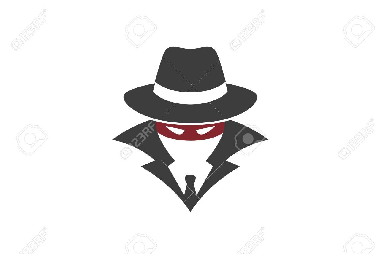 Detective Logo Design Illustration - 107678220