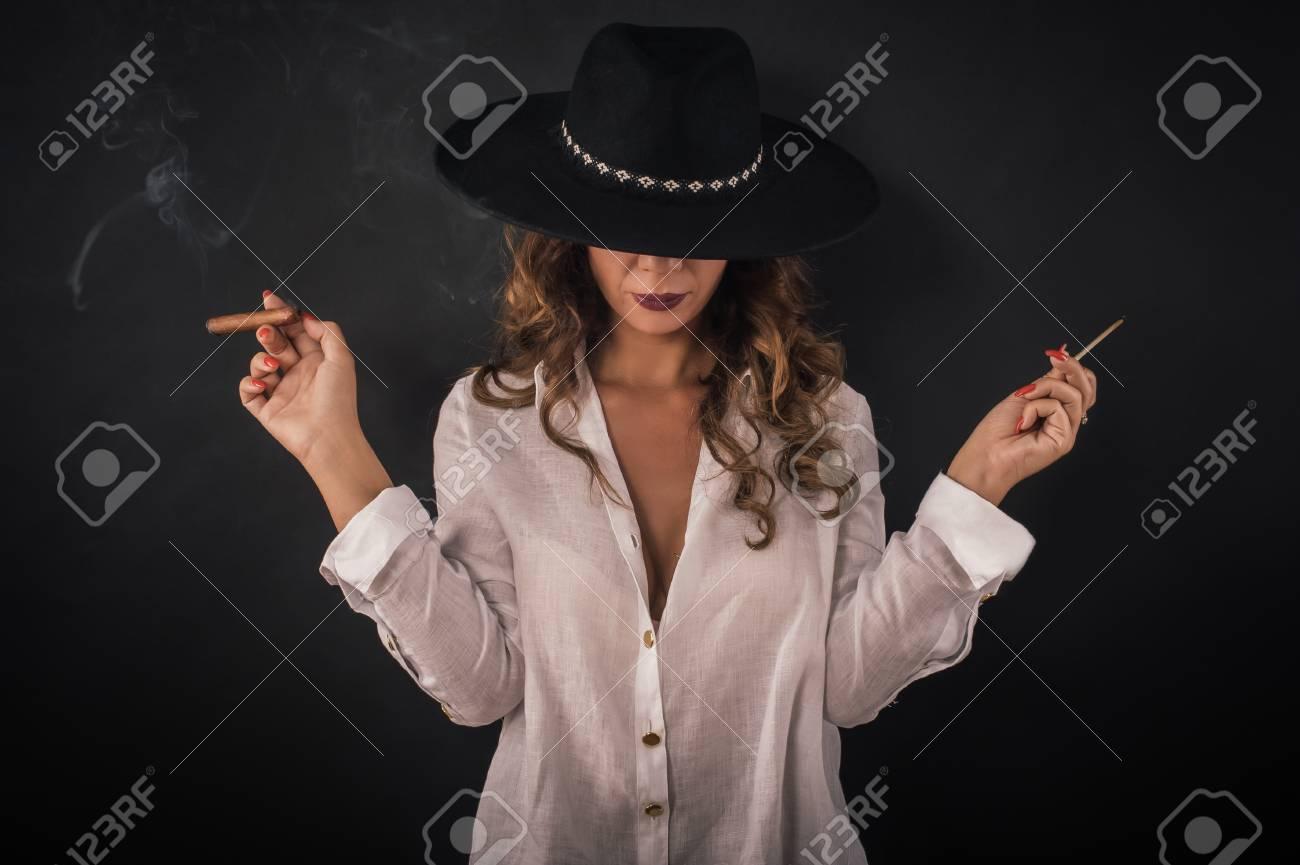 elegante sexy lady