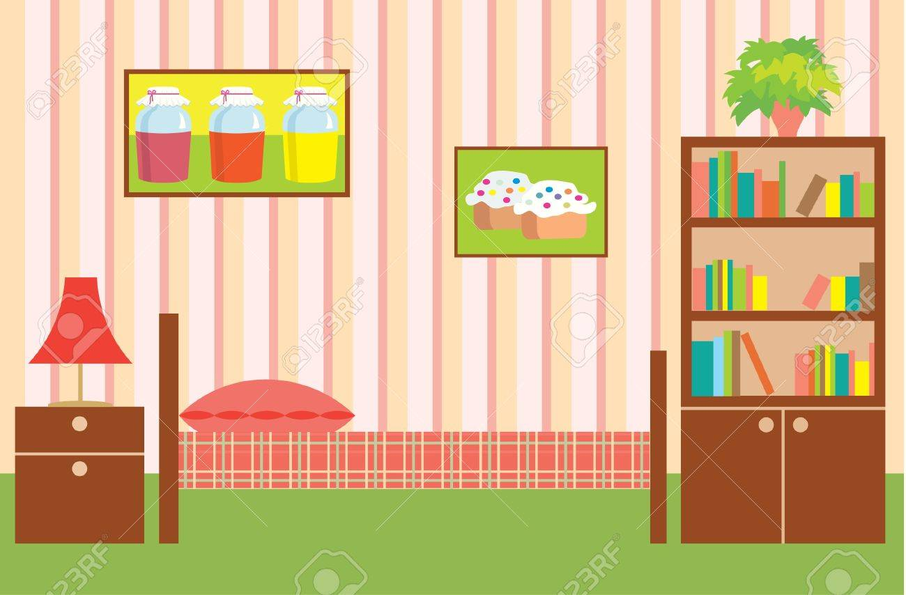 Room of the girl Stock Vector - 11113051
